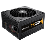 CORSAIR TX750M — 80 PLUS® Bronze Certified 750 Watt